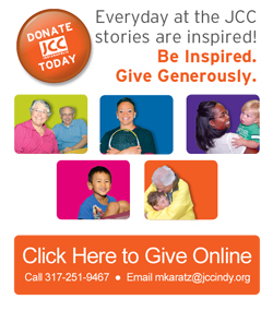 Be Inspired. Give Generously to JCC Indianapolis. (opens in new window)