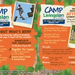 Click image to register online for camp at www.CampLivingston.com.