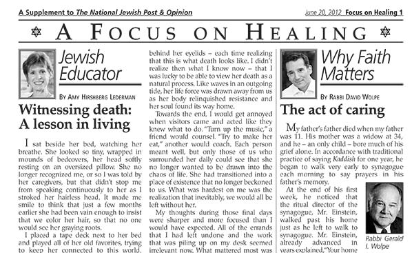 Focus On Healing 6-20-12