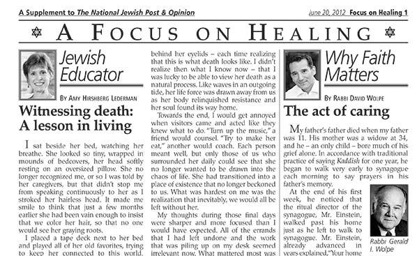 Focus On Healing 6-20-12