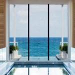 View of Atlantic Ocean from Boca Raton's Resort and Club Beach Facility