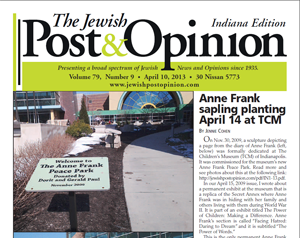 April 10, 2013 – Indiana Edition