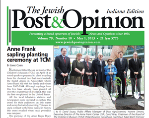 May 1, 2013 – Indiana Edition