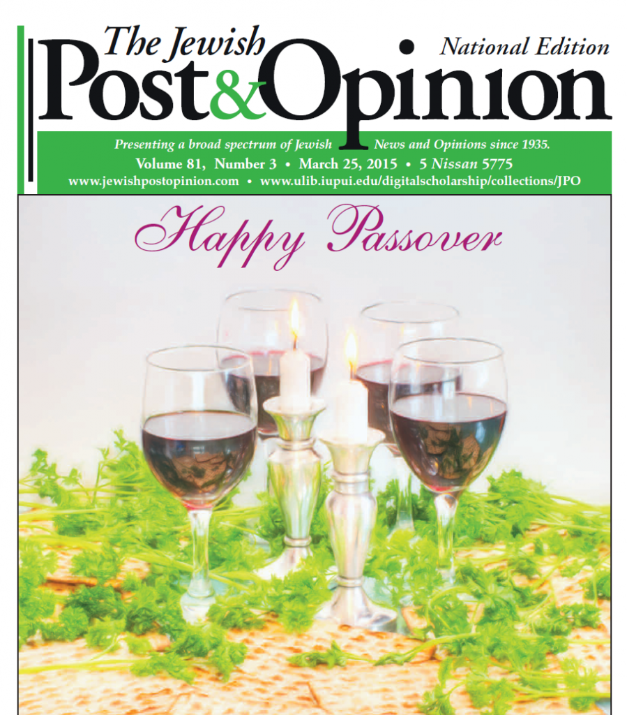March 25, 2015 – National Edition