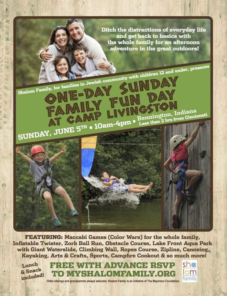 June 5-Camp Livingston Family Fun Day
