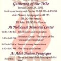 3rd annual gathering for children and grandchildren of Holocaust survivors