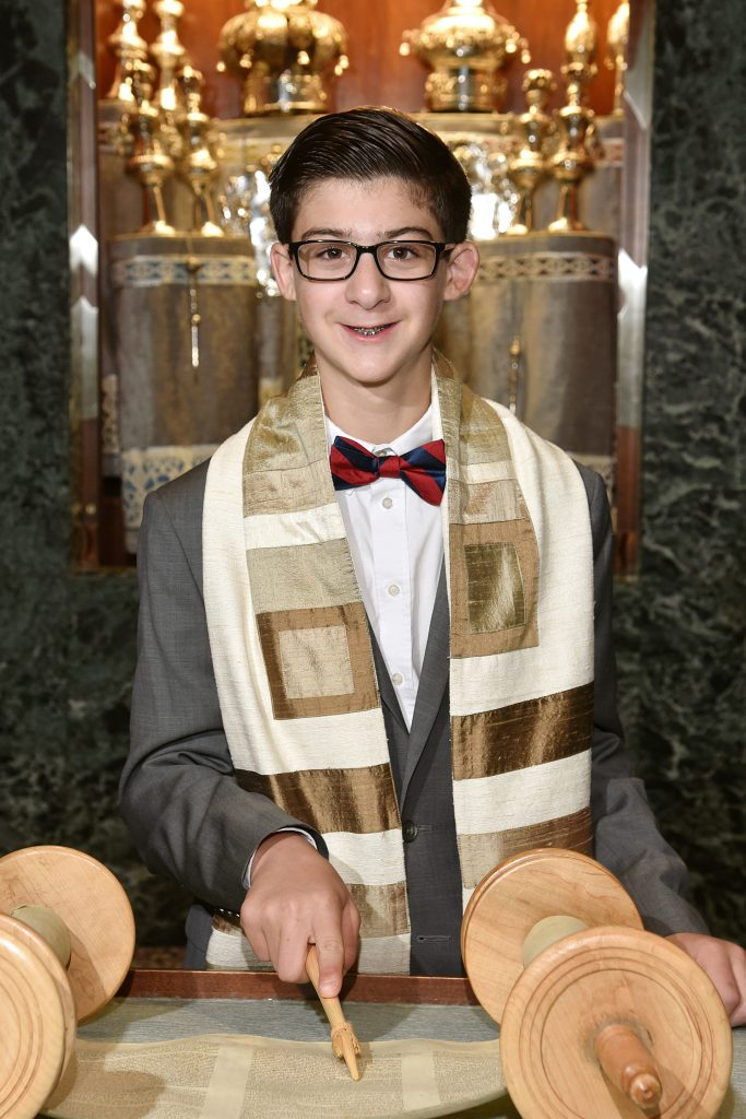 Ian Plaskoff's Bar Mitzvah project